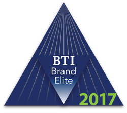 Included in 2017 BTI Brand Elite Report