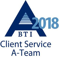 Recognized in BTI Consulting Client Service A-Team Report